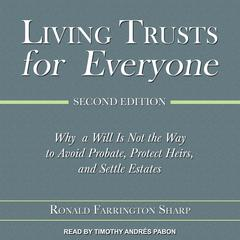 Living Trusts for Everyone by Ronald Farrington Sharp audiobook