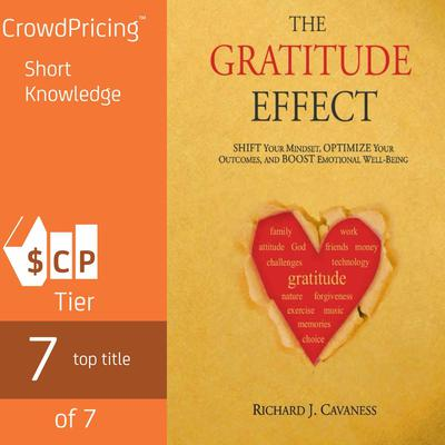 The Gratitude Effect: Shift your mindset, Optimize your outcomes, Boost emotional well being by Richard J Cavaness audiobook