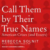 Call Them by Their True Names by  Rebecca Solnit audiobook