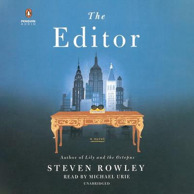 The Editor by Steven Rowley audiobook