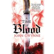 A Time of Blood by  John Gwynne audiobook