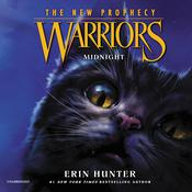 Warriors: The New Prophecy #1: Midnight by  Erin Hunter audiobook