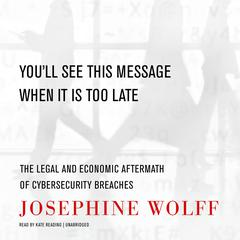 You'll See This Message When It Is Too Late by Josephine Wolff audiobook