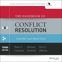 The Handbook of Conflict Resolution by  audiobook