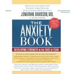 The Anxiety Book by Jonathan Davidson audiobook