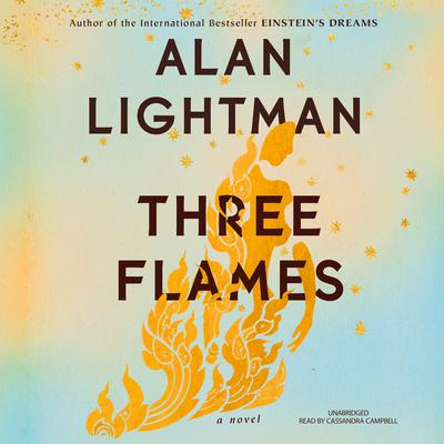 Three Flames by Alan Lightman audiobook