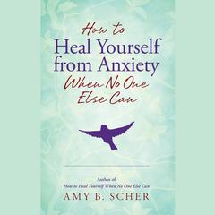 How to Heal Yourself from Anxiety When No One Else Can by Amy B. Scher audiobook
