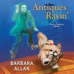Antiques Ravin' by Barbara Allan audiobook