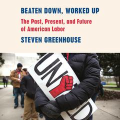 Beaten Down, Worked Up by Steven Greenhouse audiobook