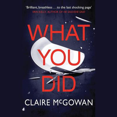 What You Did by Claire McGowan audiobook