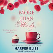 More Than Words by  Harper Bliss audiobook