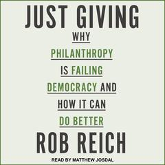Just Giving by Rob Reich audiobook