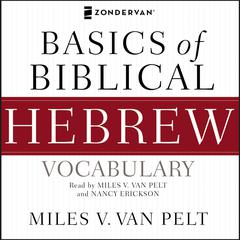 Basics of Biblical Hebrew Vocabulary Audio by Miles V. Van Pelt audiobook