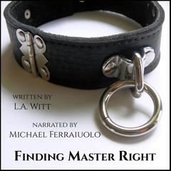 Finding Master Right by L.A. Witt audiobook