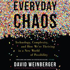 Everyday Chaos by David Weinberger audiobook