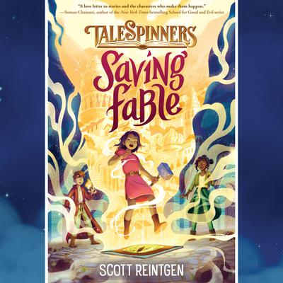 Saving Fable by Scott Reintgen audiobook
