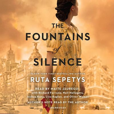 The Fountains of Silence by Ruta Sepetys audiobook