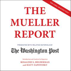 The Mueller Report by Robert Mueller audiobook