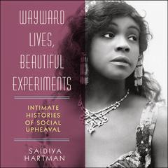 Wayward Lives, Beautiful Experiments by Saidiya Hartman audiobook