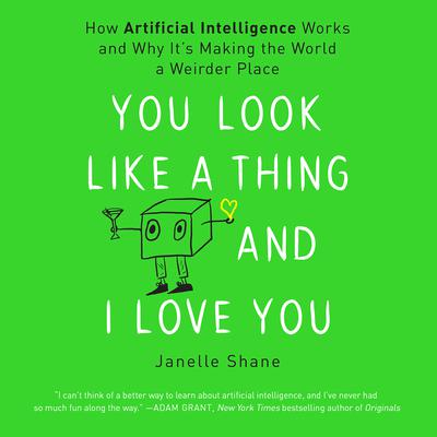You Look Like a Thing and I Love You by Janelle Shane audiobook
