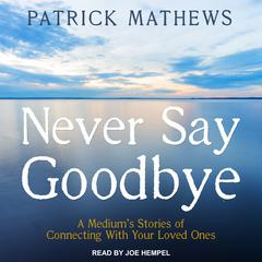 Never Say Goodbye by Patrick Mathews audiobook