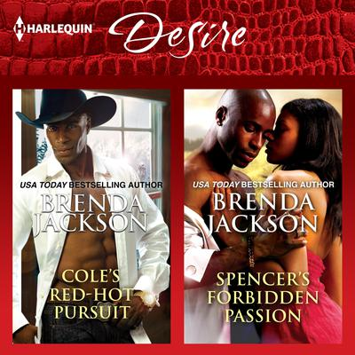 Cole's Red-Hot Pursuit & Spencer's Forbidden Passion by Brenda Jackson audiobook