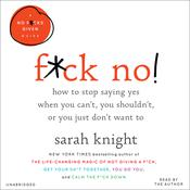 F*Ck No! by  Sarah Knight audiobook