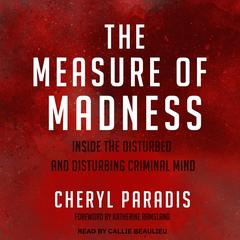 The Measure of Madness by Cheryl Paradis audiobook