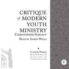 Critique of Modern Youth Ministry by Chris Schlect audiobook