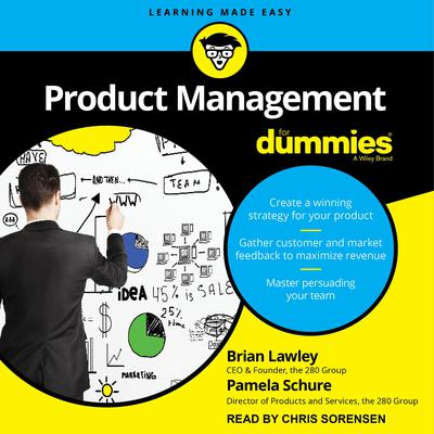 Product Management For Dummies by Brian Lawley audiobook
