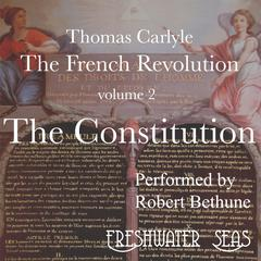 The French Revolution volume 2:  by Thomas Carlyle audiobook