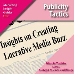 Publicity Tactics by Marcia Yudkin audiobook