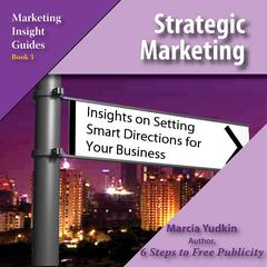 Strategic Marketing by Marcia Yudkin audiobook