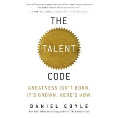 The Talent Code by Daniel Coyle audiobook