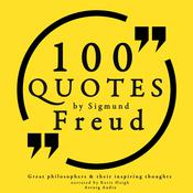 100 Quotes by Sigmund Freud by  Sigmund Freud audiobook