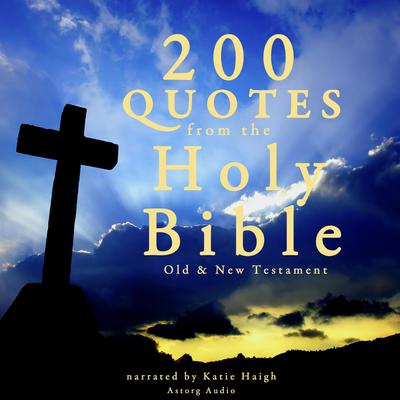 200 Quotes from the Holy Bible by  audiobook