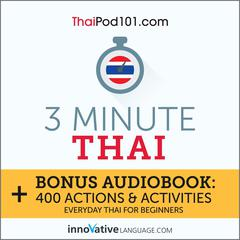 3-Minute Thai by Innovative Language Learning audiobook