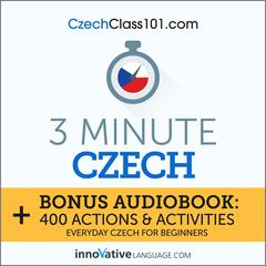 3-Minute Czech by Innovative Language Learning audiobook