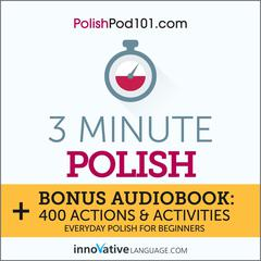 3-Minute Polish by Innovative Language Learning audiobook