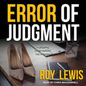 Error of Judgment by  Roy Lewis audiobook