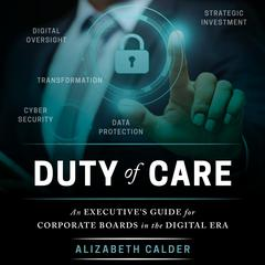 Duty of Care by Alizabeth Calder audiobook