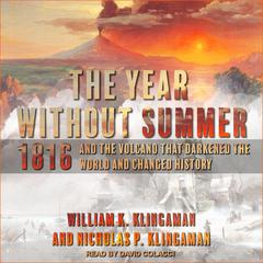 The Year Without Summer by William K. Klingaman audiobook