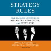 Strategy Rules by  Michael A. Cusumano audiobook