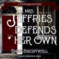 Mrs. Jeffries Defends Her Own by Emily Brightwell audiobook
