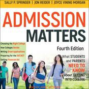 Admission Matters by  Joyce Vining Morgan audiobook