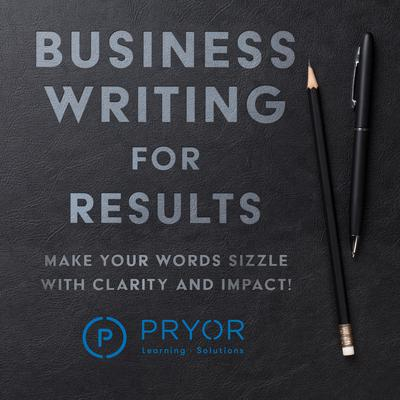 Business Writing for Results by Pryor Learning Solutions audiobook