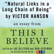 Natural Links in a Long Chain of Being by  Victor Davis Hanson audiobook