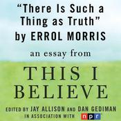 There is Such a Thing as Truth by  Errol Morris audiobook