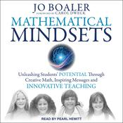 Mathematical Mindsets by  Jo Boaler audiobook