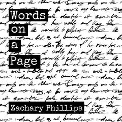 Words on a Page: Killing my Inner Demons Through Poetry by Zachary Phillips audiobook